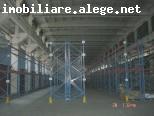 Berceni Metrou IMGB, hala beton 2100 mp, inaltime 13 m, pod rulant, rafturi, cale ferata,