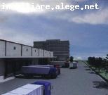 Centura Militari spatiu depozitare in parc logistic 900 mp, inaltime 8 m, toate facilitatile
