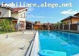 VIB263 - Vila lux D+P+2 cu piscina si garaj, 7 camere, 370 mp, mobilata/utilata